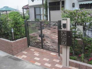 ブロック・フェンス・アプローチの施工も承ります。