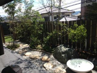 モダン和風庭園